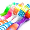 Multicolored Toothbrushes